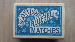"""Zündholzschachtel """"Scottish Bluebell Matches"""" Aus Dem Englischsprachigen Raum - Zündholzschachteln"""