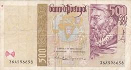 Portugal - Billet De 500 Escudos - 17 Avril 1997 - Joao De Barros - Portugal
