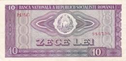 Roumanie - Billet De 10 Lei - 1966 - Roumanie
