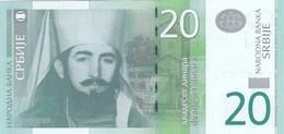 Serbie - Billet De 20 Dinara - 2013 - Petar II Petrovic Njegos - Neuf - Serbie