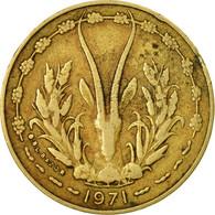 Monnaie, West African States, 10 Francs, 1971, Paris, TB - Côte-d'Ivoire