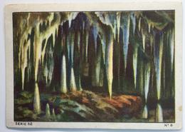 Chromo Image LES MERVEILLES DU MONDE Vol 2 Série N° 52 La Nature Architecte Merveilleux. Timbre N° 6 Grotte D' Adelsberg - Nestlé