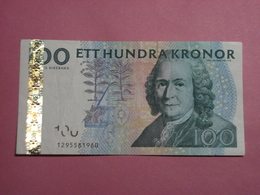 Suède - Billet De 100 Kronor - Carl Von Linné - Non Daté - P57b - Sweden