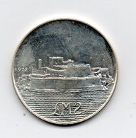 Malta - 1972 - 2 Lire Maltesi - Argento - (MW1592) - Malta