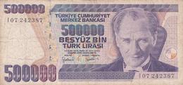 Turquie - Billet De 500000 Lira - Turquie
