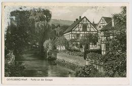 00305 - ALLEMAGNE - GEVELSBERG Westf - Partie An Der Ennepe - Gevelsberg