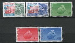 9251 FRANCE Service  N°77/8,85/7 **  Conseil De L'Europe  1983/1985  TTB - Neufs