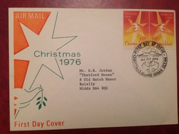 FDC Christmas Island Indian Ocean - Timbres