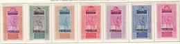 Soudan - Sudan 1927-30 Y&T N°53 à 59 - Michel N°(?) * - Série Des Targuis - Soudan (1894-1902)