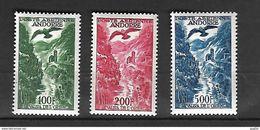Andorre 1955 - 57 Poste Aérienne Paysage Cat Yt N° 2, 3., 4 N** MNH - Poste Aérienne