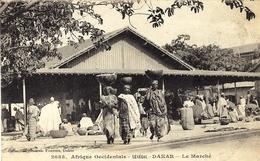2085 -SENEGAL - DAKAR - Le Marché -ed. Fortier - Sénégal