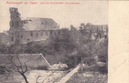 Alte Ansichtskarte Aus Langemark-Pölkapelle ( Paelkappell ) Von Den Engländern Zerschossen - Langemark-Poelkapelle
