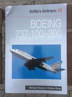 AVIATION: Livre Sur Le BOEING 737-200 Et Une BD: DC-8 (Tanguy Et Laverdure). - Lots De Plusieurs Livres