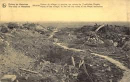 Mesen /Messines - Ruines 1914-1918 Ruins Of The Village. (edit. Chocolaterie Cesar) - Mesen