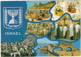 Israel: CABLE CARS At Rosh Hanikra - Haifa, Acre, Caesarea, Tel Aviv, Jerusalem, Netanya - Multiview - Israël