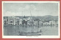 Eus126 SALONIQUE SALONICA Panorama Du Port Quai Ville 1915s -IPACT 25 IPACT 2583 Grèce Griechenland Greece - Grèce
