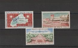 HAUTE-VOLTA 1961 PA 1 à 3 ** - Upper Volta (1958-1984)