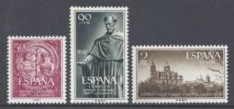 ESPAÑA 1953 VII CENTENARIO UNIVERSIDAD DE SALAMANCA Nº 1126/1128 - 1931-Hoy: 2ª República - ... Juan Carlos I