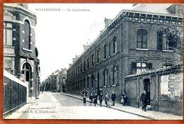 59  CPA D'HAZEBROUCK   La Gendarmerie    Joli Plan Animé     Peu Courant    1909   Bon état - Hazebrouck