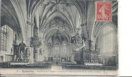 OISE - 60 - MAIGNELAY Près Estrées Saint Denis - 2700 Hab - L'église - Intérieur - Voûtes - Estrees Saint Denis