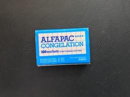 Boite D'allumettes ALFAPAC CONGELATION - Boites D'allumettes - Etiquettes