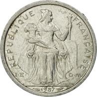 Monnaie, French Polynesia, Franc, 1987, Paris, TTB, Aluminium, KM:11 - Polynésie Française