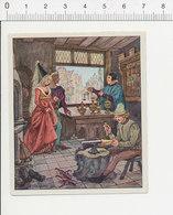 Moyen-âge Boutique Orfèvrerie Métier Orfèvre Goldsmith Travail De L'or Enclume Ancienne Aiguière 39/30 - Chromos