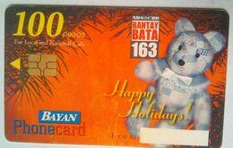 Bayan Tel Christmas 2001 100 Pesos - Philippines
