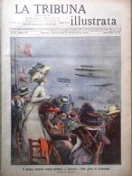 La Tribuna Illustrata 19 Settembre 1909 Morte Lefevre Peary Circuito Di Brescia - Boeken, Tijdschriften, Stripverhalen