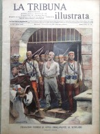 La Tribuna Illustrata 24 Ottobre 1909 Fucilazione Di Francisco Ferrer Gordigiani - Boeken, Tijdschriften, Stripverhalen