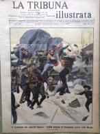 La Tribuna Illustrata 29 Gennaio 1911 Champagne Marna Gay Strade Di Roma Dante - Boeken, Tijdschriften, Stripverhalen