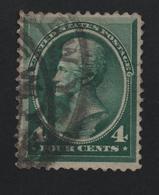 USA 2 MICHEL 50 SCOTT 211 CANCEL NEW YORK - 1847-99 Emisiones Generales