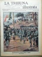 La Tribuna Illustrata 31 Dicembre 1911 Tripolitania Tobruk Nobel Fried Bolsena - Livres, BD, Revues