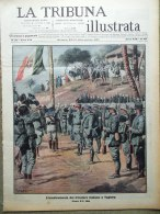 La Tribuna Illustrata 31 Dicembre 1911 Tripolitania Tobruk Nobel Fried Bolsena - Boeken, Tijdschriften, Stripverhalen