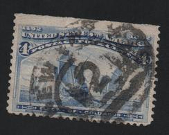USA 5 MICHEL 76 SCOTT 233  CANCEL NEW YORK - 1847-99 Emisiones Generales