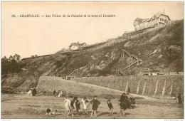 50 GRANVILLE. Villas Et Falaise Avec Nouvel Escalier - Granville