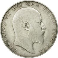 Monnaie, Grande-Bretagne, Edward VII, 1/2 Crown, 1904, TB+, Argent, KM:802 - 1902-1971 : Monnaies Post-Victoriennes