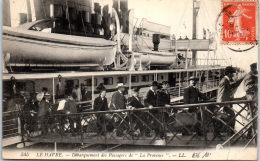 76 LE HAVRE - Débarquement Des Passagers De LA PROVENCE - Le Havre