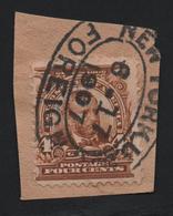 USA 8 MICHEL 141 SCOTT 303  CANCEL NEW YORK - 1847-99 Emisiones Generales