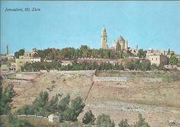 Jérusalem - Mont Sion, Vue Générale - Israel
