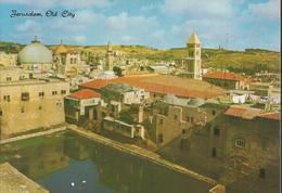 Jérusalem - Vue Partielle De La Vieille Ville - Vasque De Hezekiah, Eglise St Sépulcre Et Redeemer - Israel