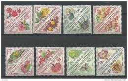 "Cameroun Taxe YT 35 à 40 "" Série Complète Fleurs "" 1963 Neuf** - Cameroon (1960-...)"