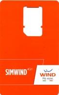 *ITALIA - WIND* - Supporto GSM - [2] Sim Cards, Prepaid & Refills
