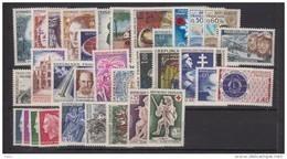 1967-FRANCE-ANNEE COMPLETE 1967**33 TIMBRES - Frankrijk