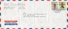 Costa Rica 1966 San Jose President John F Kennedy Indian Maya Artifact Cover - Costa Rica