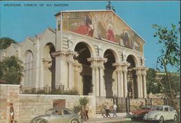 Jérusalem - Basilique Et Jardin De Gethsemani - Church Of All Nations (parking Pour Coccinelles!) - Israel