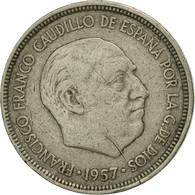 Monnaie, Espagne, Caudillo And Regent, 5 Pesetas, 1960, TB+, Copper-nickel - [ 5] 1949-… : Royaume