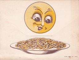"""Pâtes """"LA LUNE"""", Dépliant Publicitaire - Reclame"""