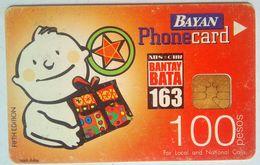 Bayan Tel Bantay Bata 100 Pesos - Philippines