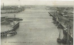 CPA - France - (59)  Nord - Dunkerque - Le Chenal - Dunkerque